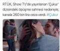 غرامة قدرها 260 الف ليرة تركية بسبب قبلة في احدى المسلسلات