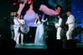 ديانا كرزون تكرم العندليب الأسمر في مهرجان الفجيرة الدولي للفنون