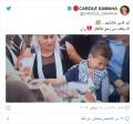 كارول سماحة تعلّق على صورة إبن علاء أبو فخر وهو يبكي: