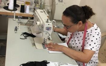ابتكار صناعة الكمّامات في صيدا في زمن