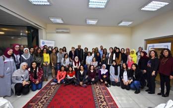 جانب من المشاركين في احتفال رعاية اليتيم