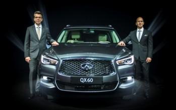 إنفينيتي الشرق الأوسط والعربية للسيارات تقدمان سيارتان جديدتان فاخرتان من فئة الكروس أوفر