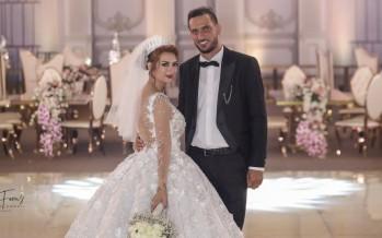 زفاف محمود الميعاري وروزانا الأسدي
