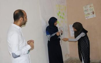 دورة متطوعين في جمعية انسان للتنمية