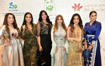 لطيفة التونسية وسوزان نجم الدين في حفل بيلا روما الخيري  بدبي
