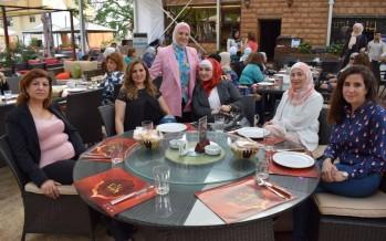استبانة رمضان لصديقات الرعاية في مطعم تراسينا