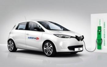 سلفدرايف تطلق سيارات كهربائية بتكلفة تبلغ 5 درهم إماراتي في دبي