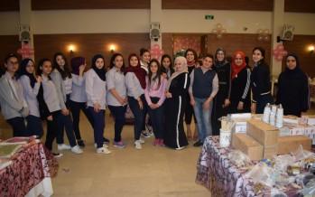 معرض الأم يشهد حضوراً كثيفاً من مدارس صيدا دعماً لكفالة أيتام الرعاية