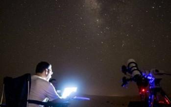 قصة نجاح لبناني اقتحم الفضاء بصور مذهلة