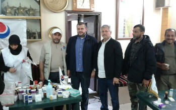 حزب الله ولجنة دعم المقاومة في فلسطين نظما يوماً صحياً مجانياً بذكرى يوم الأرض في مخيمات منطقة صيدا