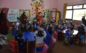 مشروع كنزة الشتاء يصل لمدرسة صيدا المتوسطة المختلطة الرسمية
