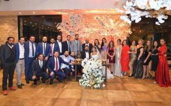 مبروك للعروسين الإعلامي سهيل زنتوت والآنسة سنا البابا