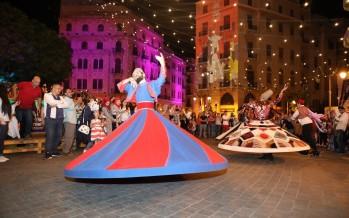 الرئيس الحريري في ساحة النجمة مشاركاً في