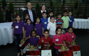 400 طفل يتيم من مناطق مختلفة جمعتهم المبرّات في