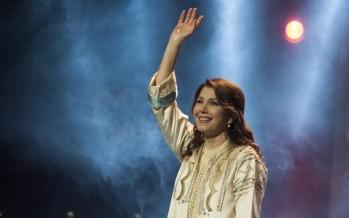 ماجدة الرومي تنشد أمن وسلام لبنان بمهرجانات جونية الدولية