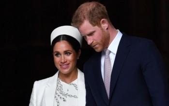 الاسرة الملكية البريطانية تتمنى السعادة لهاري وميغن