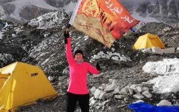 رفع علم الجيش وفجر الجرود على جبل هملايا