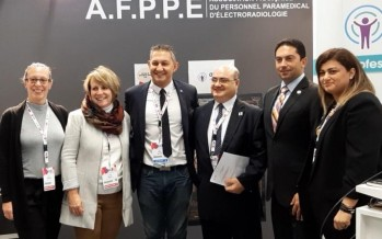 توقيع اتفاقية تعاون مشترك بين النقابة اللبنانية لتقنيي الأشعة والجمعية الفرنسية للأشعة.