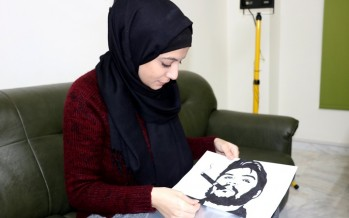 حنين نزار: لوحاتي رسائل للعالم من أجل فلسطين