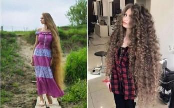 روسية لم تقص شعرها منذ 14 عاماً.. شاهدي كيف يبدو الآن!