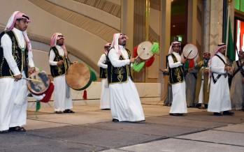 جامعة الفلاح تشارك طلابها السعوديين احتفالهم باليوم الوطني 87