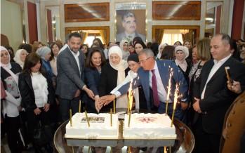 النائب الحريري كرمت معلمات ومعلمي مدرستي ثانوية الحريري والبهاء في صيدا بمناسبة عيد المعلم