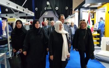 الحريري زارت معرض مواد البناء