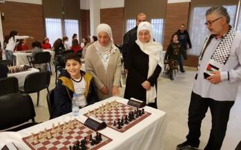 أكاديمية الأهلي للشطرنج نظمت بطولة الميلاد الثانية ووجهت تحية للقدس