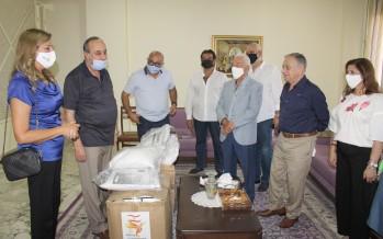 روتاري صيدا قدم مساعدات عينية لجمعية جامع البحر الخيرية