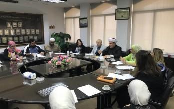المفتي سوسان التقى معلمي التربية الإسلامية في مدارس المقاصد