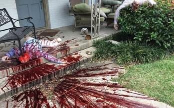 بمناسبة هالوين... مسرح جريمة وهمي أرعب السكان واستدعى تدخّل الشرطة (صور)