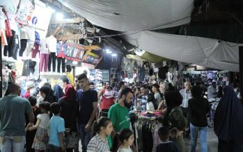 حركة ناشطة في أسواق طرابلس عشية «عيد الفطر»