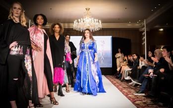 المصممة المغربية لمياء منهل تطلق عرضها في باريس