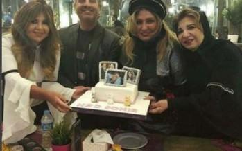 سهير رمزي تتخلى عن حجابها في حفل عيد ميلادها الـ67
