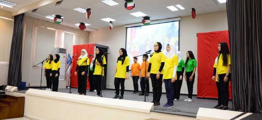 مهرجان في الإلقاء الشعري لثانوية الإيمان في صيدا