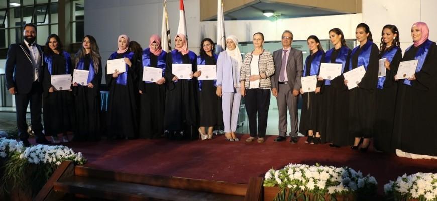 جمعية المواساة تُخرّج الدفعة السادسة والعشرين من طلاب المعهد