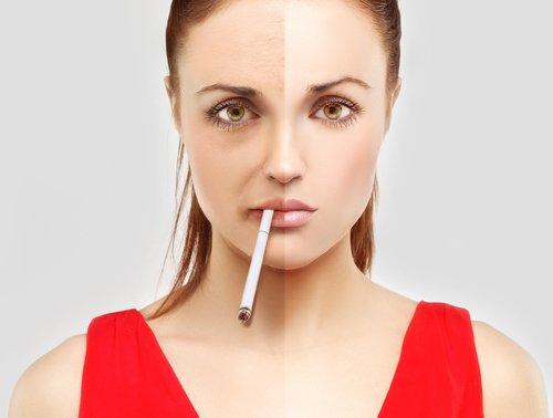 اعرفى أضرار التدخين على جمالك