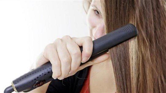 أجهزة التصفيف قد تؤذي شعرك