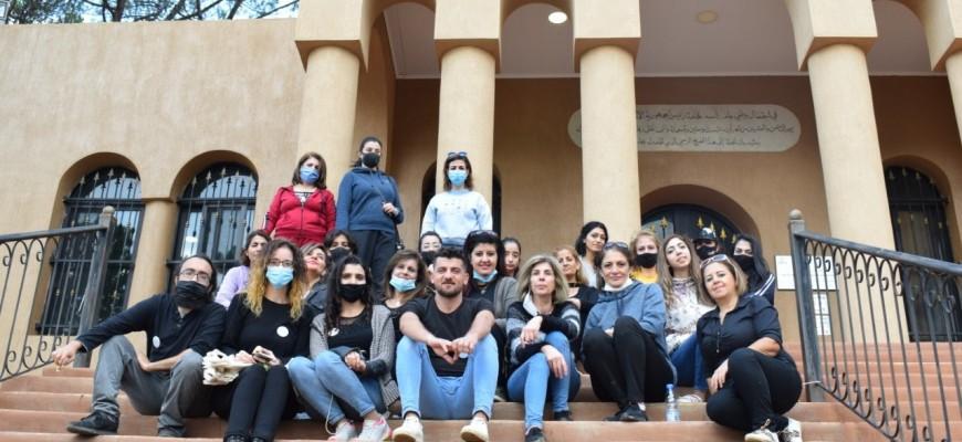 حملة نظافة وفرز من المصدر في الباروك والفريديس