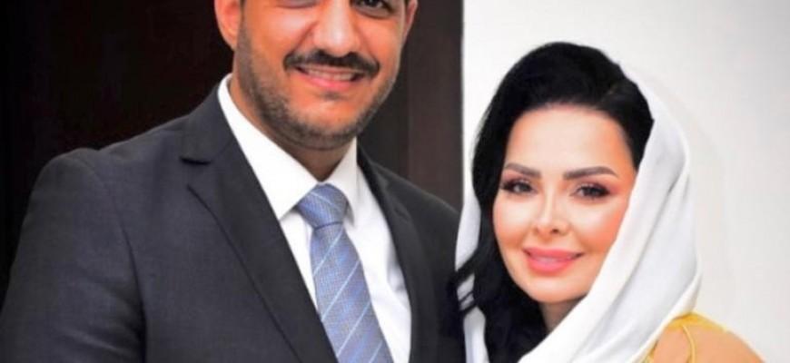 بالصور .. حفل زفاف ديانا كرزون على الإعلامي معاذ العمري