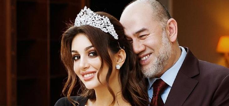 سلطان ماليزيا يشكك بنسب ابنه من طليقته ملكة الجمال