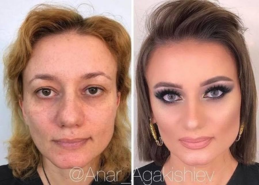 بالصور: خبير تجميل يعيد النساء 20 عاماً إلى الوراء!