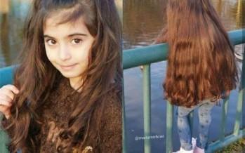 بالصور: طفلة عربية تجذب المعجبين وتشعل