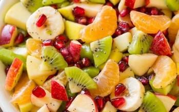 سلطة الفواكه الشتوية