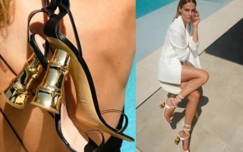 بالصور - حذاء مذهل في واجهة الموضة هذا الصيف