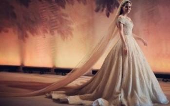 لبنانية شغلت العالم بزفافها.. من الفستان حتى الشوكولا!