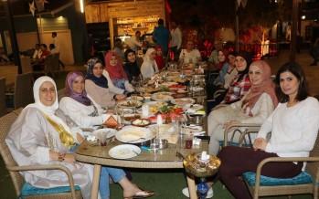 سحور رمضاني لقسم التأهيل المهني الخاص في جمعية المواساة