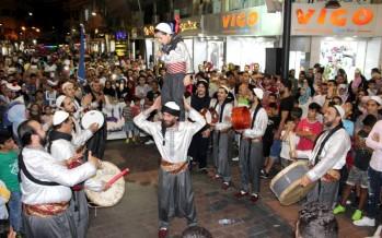 وسط صيدا يشهد عروضاً موسيقية وتراثية لفرق سويسرية وشامية وصيداوية