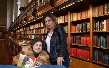 الدكتورة ناريمان عساف توقع كتابها في البيال
