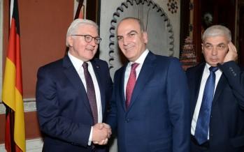 الرئيس الألماني يثني على أعمال مرعي أبو مرعي